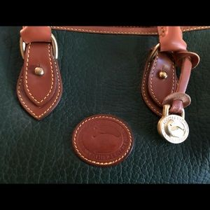 Dooney and Bourke Green Leather bag